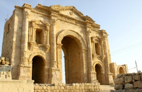 The most beautiful places in Jordan - Jerash